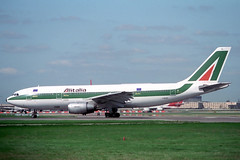 I-BUSL Airbus A.300B4-203 Alitalia (pslg05896) Tags: london heathrow airbus lhr alitalia a300 egll ibusl