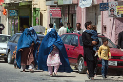 Women in Kabul (varlamov) Tags: street people woman afghanistan hijab kabul burqa