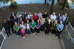 Thanksgiving 2011 3 (icantcu) Tags: thanksgiving family portrait distortion feast holidays wideangle gathering remote groupshot largegroup
