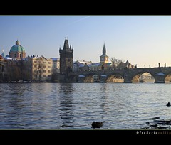 Prague - Bridge Charles IV (lathuy) Tags: bridge prague praha pont charlesiv czeck tchquie