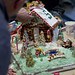 Golf Gingerbread Clubhouse