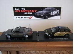 Let the Pursuit Begin (magnummb) Tags: car model police dodge cruiser charger magnum diecast