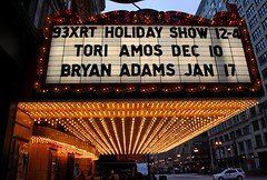 Bryan Adams coming to the Chicago Theatre, In the Loop. (Cragin Spring) Tags: old city urban chicago marquee lights illinois midwest downtown bright theatre loop il movies concerts toriamos chicagoloop statestreet downtownchicago chicagoillinois bryanadams chicagoil chicagotheatre wxrt chicagodowntown moviepalaces wtmx