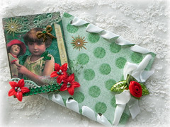 Every Girl Needs her Dolly - ATC and envelope (AllThingsPretty...) Tags: atc victoriangirl girlwithdoll christmasatc