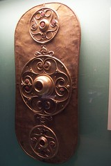 Battersea Shield (sarflondondunc) Tags: london history shield celtic britishmuseum archeology celticart batterseashield votiveofferingsfertilityrites torivergoddess lateneartperiod