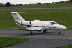 N498YY Cessna 525 Citationjet CJ-1 (Guernsey Airport Photography) Tags: guernseyairport cessna525citationjetcj1 n498yy johnmillsaviationservices