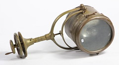 35. Early Brass Search Light