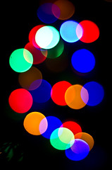 Christmas Clich (Adam Kennedy Photography) Tags: christmas winter tree lights colours bright bokeh outoffocus playedout clich 50mmf18 adamkennedy nikond7000