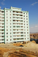 PRK-Kaesong-0811-05-v1 (anthonyasael) Tags: windows sky cloud building window architecture buildings asia balcony places nopeople korea structure east tall waste residential fareast northkorea eastasia dprk prk backgroundpeople kaesong buildingexterior peopleinthebackground residentialstructure backgroundperson anthonyasael fareastasia democraticrepublicofnorthkorea