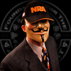Guy Fawkes Joins NRA