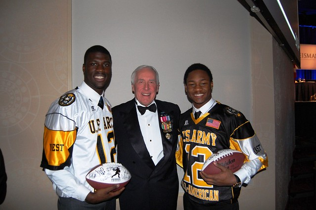 Army Player of the Year Finalists with former Heisman winner, Armys Pete Dawkins