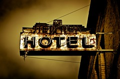 Hotel New Rex (cwaersten) Tags: sanfrancisco old favorite usa sign hotel nikon rust 10 apocalypse rusty 100v10f northbeach favourite 10fav apocalyptic alifornia d90 20fav newrex