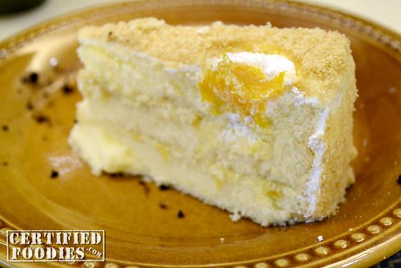 Honey Mango Chiffon Cake
