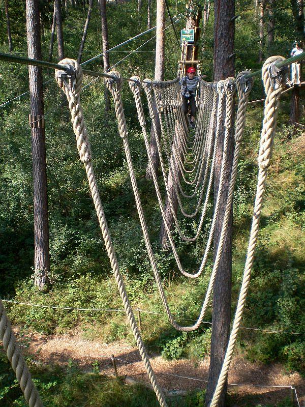 Abenteuerwald - Hochseilgarten
