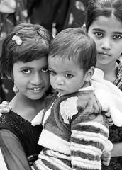 the kids are alright (Dean Forbes) Tags: bw india children blackwhite delhi sufishrine