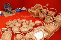 Wickerwork (G. vila) Tags: man portugal senior handicraft alone adult crafts working workshop baskets worker wicker craftsman portuguese azores aores azorerna acores azoren wickerwork basketwork azory azorean
