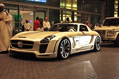 FAB Design SLS (Justins Supercars) Tags: fab slr london design dubai arab aero sls qatar gullwing gullstream