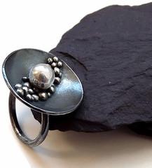 Sterling Silver Ring (Kaila_jewellery) Tags: closeup silver daylight photo jewelry ring macrophoto sterlingsilver panasoniclumix