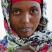Portrait Of  Veiled Young Woman Baligubadle Somaliland