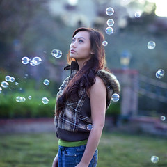 The End (Annie Hall Photography) Tags: selfportrait bubbles anniehall 52weeksproject serend1p1tyx