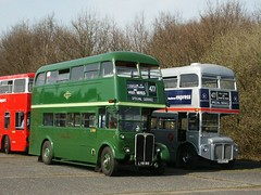 Wisley Bus Rally, April 2005 (Tony's Trains and Buses) Tags: routemaster regent rt wisley rm aec busrally