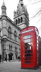 1869 - Chester Town Hall (Mal 1005) Tags: red chester townhall phonebox 1869 hss sliderssunday