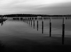 106/365 - Semlin (Martin Schmidt (www.schmaidt.de)) Tags: sea bw white black landscape holidays days tage 365 rathenow 365days semlin