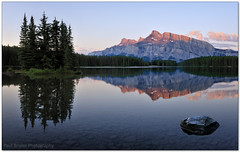 Back to Two Jack (Panorama Paul) Tags: panorama canada sunrise alberta mountrundle banffnationalpark twojacklake nohdr sigmalenses nikfilters nikond300 wwwpaulbruinscoza paulbruinsphotography