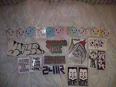 PIG MASS PACK (KVLT1) Tags: graffiti sticker stickers trading graff slaps