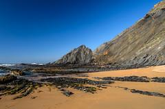 Praia da Amoreira (_Rjc9666_) Tags: 6 seascape colour praia beach portugal nature landscape 22 nikon paisagem coastline algarve 278 ruby3 nikon1855 d5100 ruby10 ruby15 ©ruijorge9666