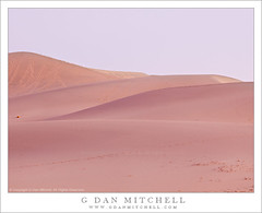 Eureka Valley Dunes, Twilight (G Dan Mitchell) Tags: california park travel blue winter light usa plant nature america print landscape foot death evening twilight sand purple desert dunes hill north stock steps scenic tracks hills national valley license eureka curving