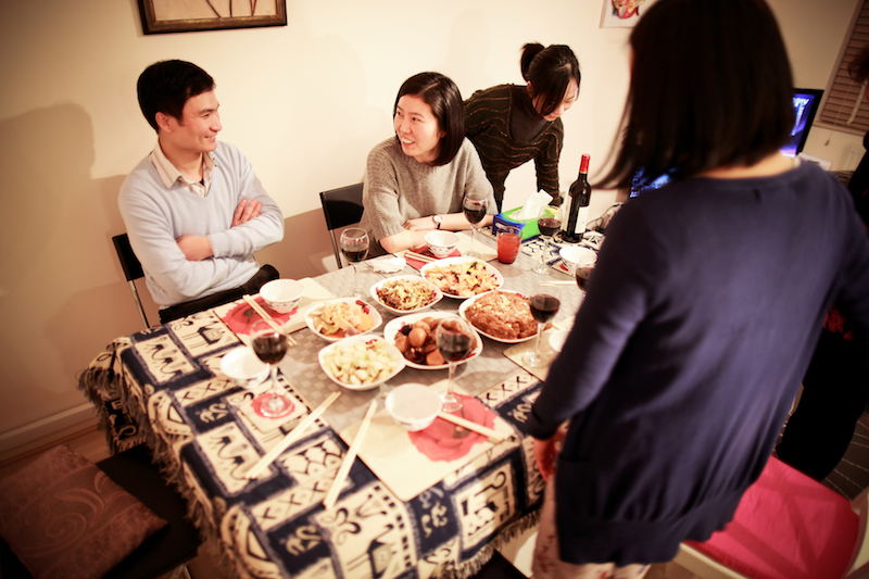 Chen Jie home dinner 015