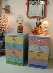 Móveis pintados no Atelier Odila Freire (odilafreire) Tags: art arquitetura painting arte furniture arts decor decoração pintura móveis antiquário odilafreire