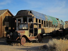 Goldfield NV 1900a (DB's travels) Tags: cars abandoned nevada historic dodge goldfield konomark winter12 tempswnv