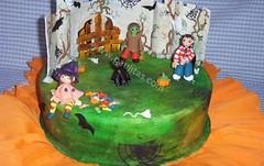 Dulce y tenebroso  Halloween (PaulitasArteyAzucar) Tags: tortas paulitas ponques
