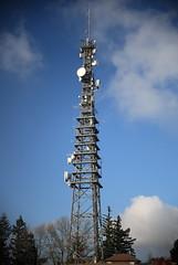 Turm (dmytrok) Tags: sky clouds germany deutschland himmel wolken berge mast turm heilbronn  beilstein  stocksberg  lwensteiner
