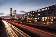 Munich Nightshot - Highlight Towers Alternative Take (F*Gehry) Tags: munich nightshot highlighttowers