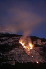 Incendie (mirli38) Tags: chartreuse feu incendie isère crolles