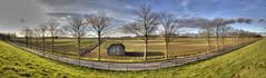 ... panorama ... (Schapekop) Tags: panorama nederland dordrecht hdr zuidholland polderdebiesbosch oostdijk nieuwemerwedeweg schapekop theohappe