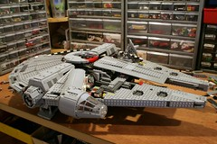 slow and steady (psiaki) Tags: star lego millennium falcon wars moc