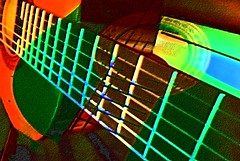 Staring Down a Loaded Six-String (Zoom Lens) Tags: abstract nikon guitar surrealism surreal suzy axe ax sixstring abstractionism johnnyguitar johnrussellakazoomlens setjohnnyguitar copyrightbyjohnrussellallrightsreserved