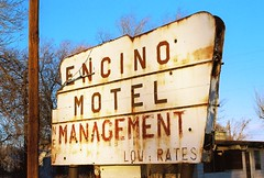 New Management, Low Rates (jmhouse) Tags: newmexico color motel abandonment ruraldecay encino encinomotelmanagement