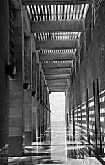 GRAY DEEP (SAUD ALRSHIAD 2  ) Tags: light blackandwhite black monochrome lines composition corner photography nikon line curve riyadh 2012 saud saudia    flickraward d7000  nikonflickraward nikond7000 alrshiad