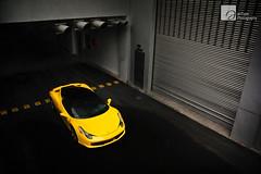 Dark Territory (anType) Tags: italy sports car yellow italian asia italia ferrari exotic malaysia kualalumpur luxury coupe supercar v8 sportscar 458 blackroof worldcars giallomodena