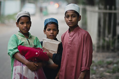 Children of Heaven (A. adnan) Tags: portrait kids children religious nikon muslim islam religion 85mm bangladesh hillview chittagong madrasa threefriends bangladeshiphotographer nikon85mmf18d d7000 atamohammadadnan