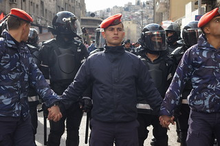 Arab Spring - after Friday prayers in Amman