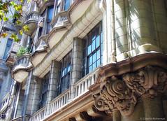 Palacio Barolo (3), Buenos Aires, Argentina (Claudio.Ar) Tags: street city color building argentina architecture topf50 buenosaires sony ciudad landmark historic dsc h9 claudioar claudiomufarrege