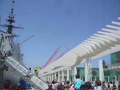 """PASADA DE LA """"PATRULLA AGUILA"""" (DAGM4) Tags: españa del de la spain andalucia et ea malaga patrullaaguila fuerzasarmadas pasada 2011 ejércitodelaire ejércitoespañol spanisharmy difas2011"""