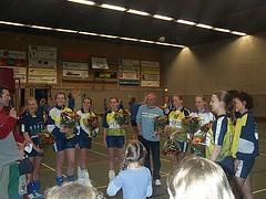 2003 D2 Kampioen. Trainer Jos vd Leest