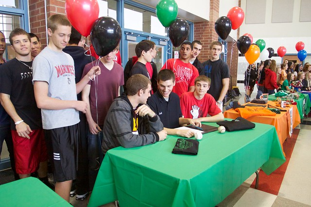 Creekview High School Athletes Sign With Colleges 2012